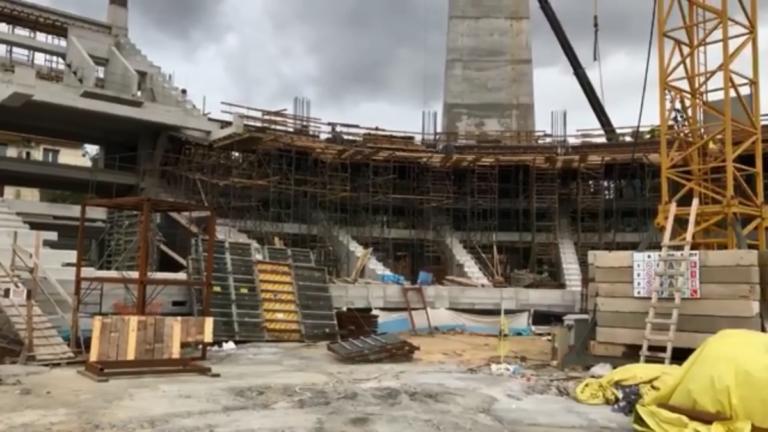 """Γήπεδο ΑΕΚ: Παίρνει μορφή η """"Αγιά Σοφιά""""! Ενώνονται τα πέταλα [pics – video]   Newsit.gr"""