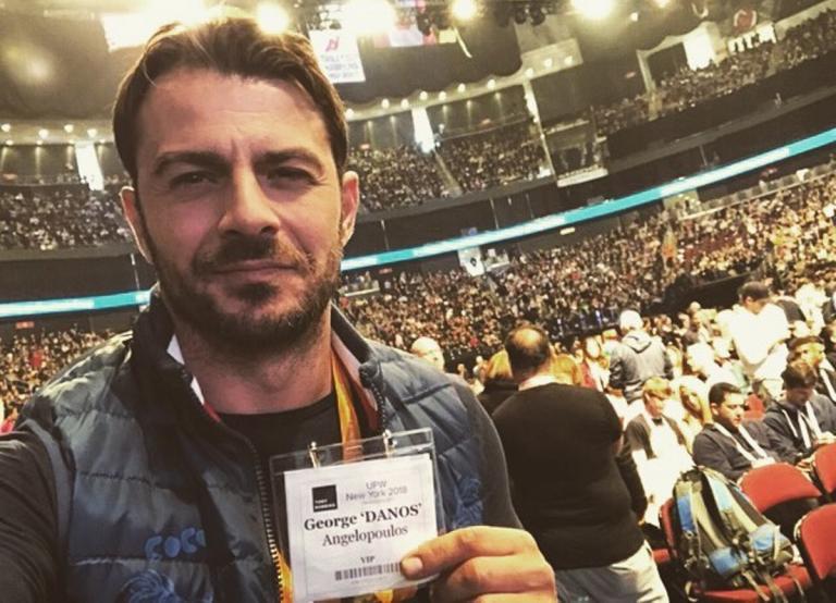 Γιώργος Αγγελόπουλος: Συνάντηση με διάσημη σταρ του Χόλιγουντ στην Αμερική! | Newsit.gr