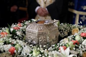 Στην Αθήνα η Ιερή Κάρα του Αγίου Παντελεήμονος του Ιαματικού [pics]