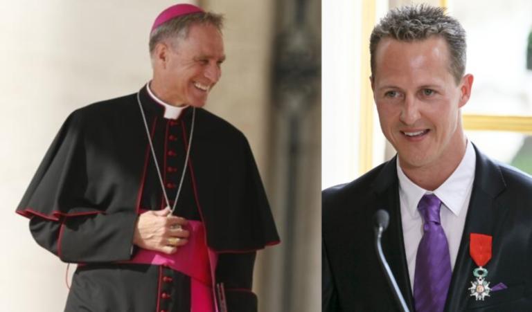 Συγκλονίζει Αρχιεπίσκοπος για την υγεία του Σουμάχερ!»Έπιασα τα χέρια του και τον κοίταξα»   Newsit.gr