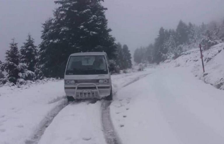 Θεσσαλία: Μισό μέτρο χιόνι στο Καταφύγιο Κισσάβου [pics]
