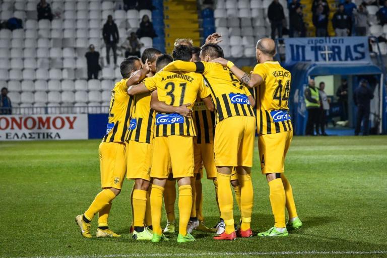 """Απόλλων Σμύρνης – Άρης 1-2 ΤΕΛΙΚΟ: Επέστρεψαν στις νίκες οι """"κίτρινοι""""!   Newsit.gr"""