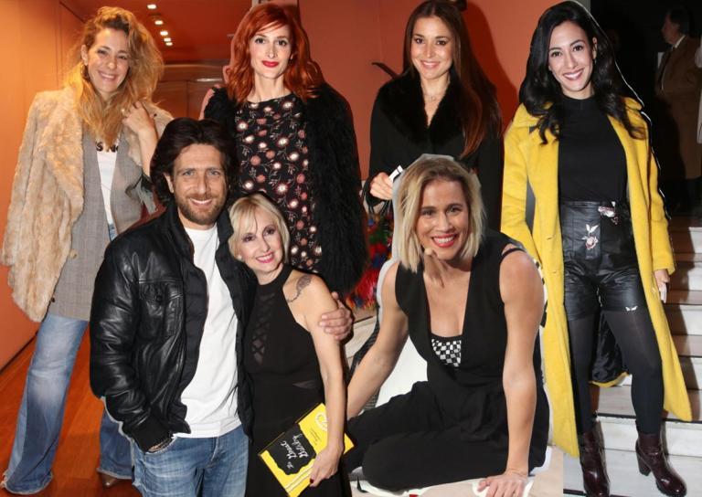 Λαμπερές παρουσίες στην πρεμιέρα της Νάντιας Μπουλέ στο «Μικρό Παλλάς»!   Newsit.gr
