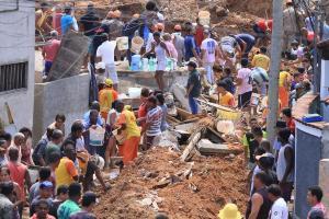 Βραζιλία: Εννιά νεκροί ύστερα από κατολίσθηση στο Ρίο!