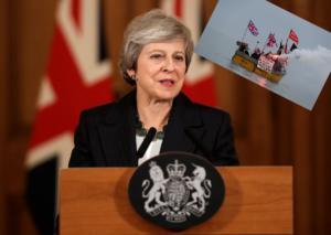 Brexit: Στα σχοινιά η Μέι που δεν κάνει βήμα πίσω! video, pics