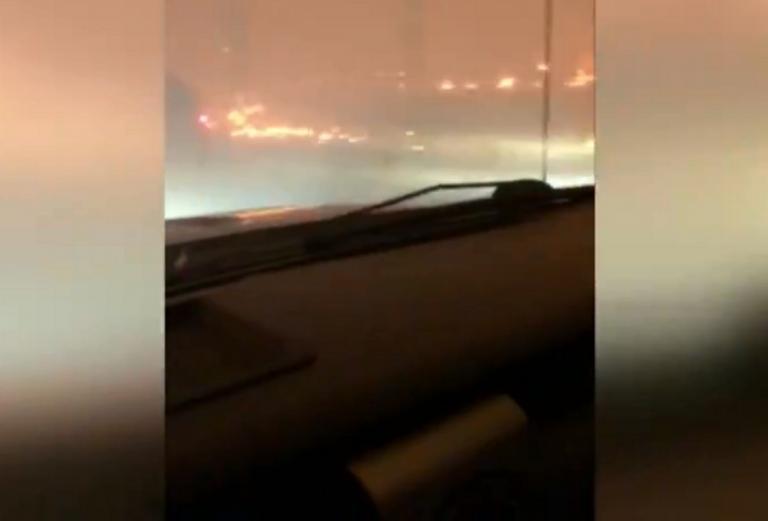 Φωτιά στην Καλιφόρνια: Υπόκλιση! Πατέρας τραγουδούσε στην τρίχρονη κόρη του περνώντας τις φλόγες! | Newsit.gr