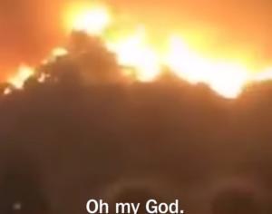 Καλιφόρνια: Ο ορισμός της κόλασης! Συγκλονιστικό βίντεο μέσα στις φλόγες
