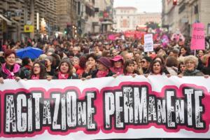 Διαδηλώσεις σε όλη την Ευρώπη κατά της σεξιστικής και σεξουαλικής βίας