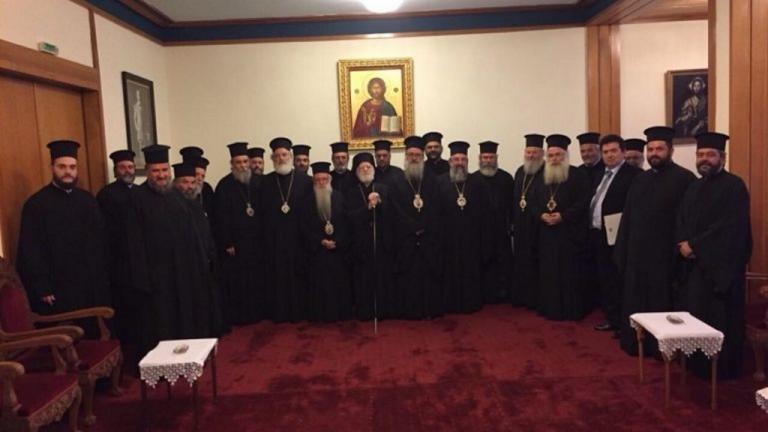 """Εκκλησία Κρήτης: """"Διαφωνούμε με τη θρησκευτική ουδετερότητα"""" – Το ανακοινωθέν της Ιεράς Συνόδου!   Newsit.gr"""