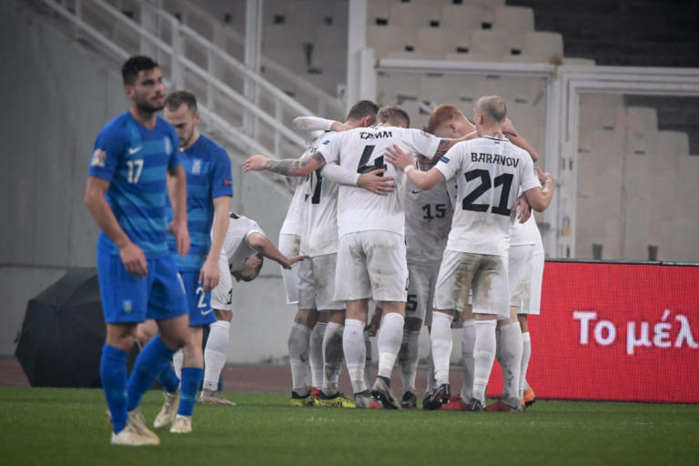 Ελλάδα – Εσθονία: «Σφαλιάρα» για την Εθνική στο ΟΑΚΑ!  «Πικρό» αντίο στο Nations League