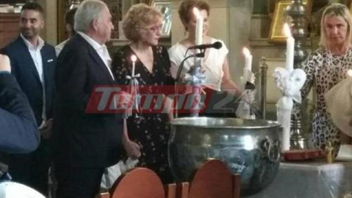 Πάτρα: Βάφτισαν τρία παιδάκια Γεροβασίλη – Φλαμπουράρης [pic]   Newsit.gr