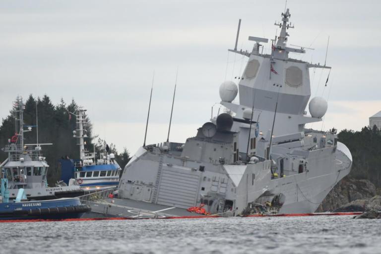 Σύγκρουση ελληνόκτητου τάνκερ με νορβηγική φρεγάτα! – Οκτώ τραυματίες [video] | Newsit.gr