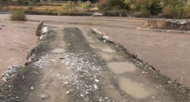 Αιτωλοακαρνανία: Έπεσε η γέφυρα που ένωνε τη Ναυπακτία με το Αγρίνιο – Το πριν και το μετά της καταστροφής – video | Newsit.gr