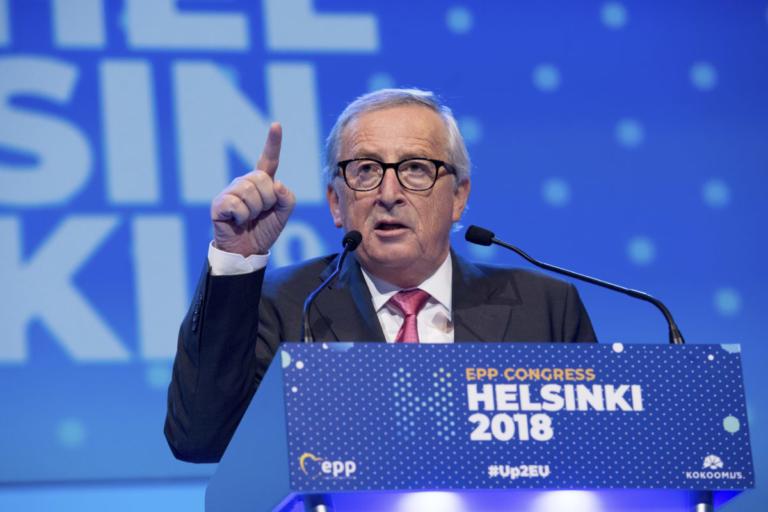Γιούνκερ: Δεν βρισκόμαστε σε πόλεμο με την Ιταλία! | Newsit.gr