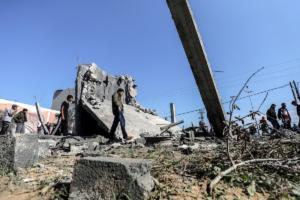 Ισραηλινά αεροσκάφη βομβάρδισαν τον τηλεοπτικό σταθμό της Χαμάς στη Γάζα!