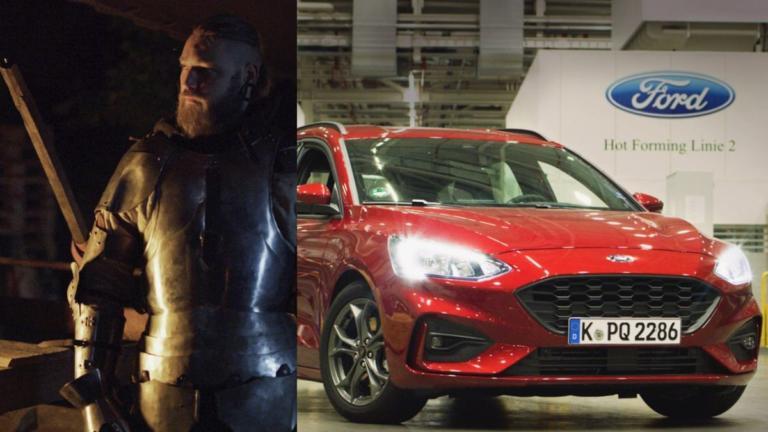 Τι σχέση έχουν οι πανοπλίες των ιπποτών με το νέο Ford Focus; [vid] | Newsit.gr