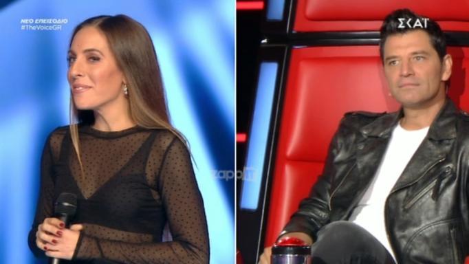 The Voice: «Πάγωσε» ο Σάκης Ρουβάς! «Έχουμε ξανασυναντηθεί Σάκη…» | Newsit.gr
