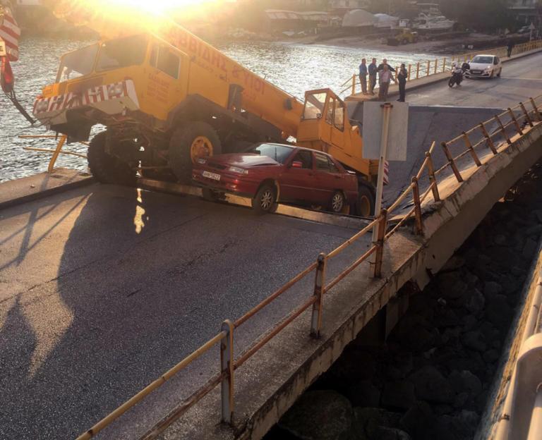 Έπεσε γέφυρα στην Καβάλα! Απίστευτες εικόνες μπροστά από το παλιό νοσοκομείο! | Newsit.gr
