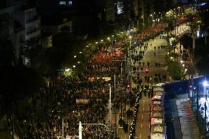 Πολυτεχνείο: Μαζική συμμετοχή στις πορείες για την 45η επέτειο της εξέγερσης [pics]