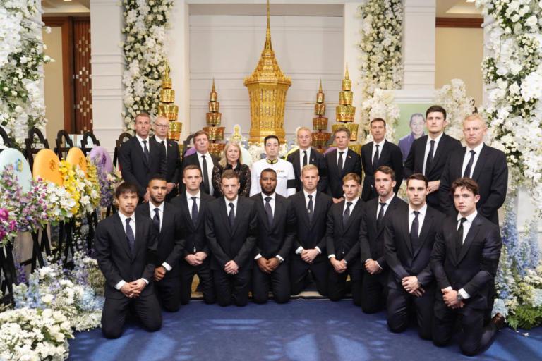Λέστερ: Σύσσωμο το ποδοσφαιρικό τμήμα στην Ταϊλάνδη! Ταξίδι 19.000 χιλιομέτρων για την κηδεία του Σριβανταναπράμπα [pics]   Newsit.gr
