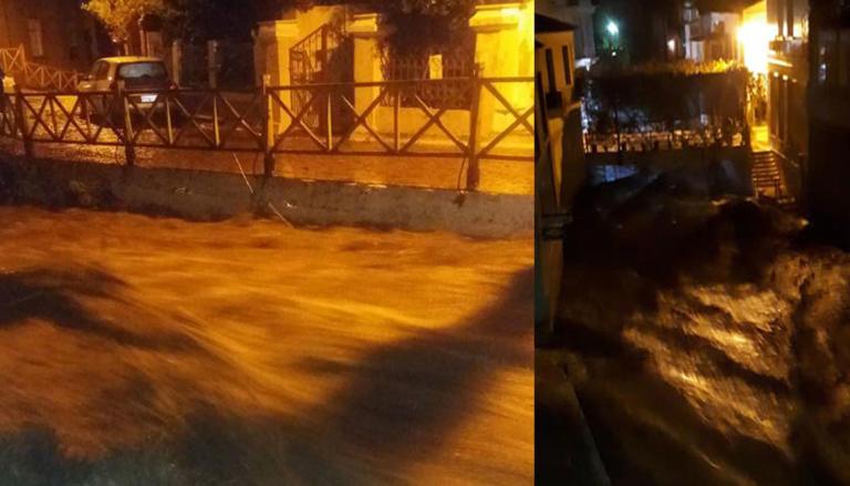"""Καιρός –  Λέσβος: Σάρωσε το νησί η """"Πηνελόπη""""! Κινδύνευσαν άνθρωποι από τις πλημμύρες   Newsit.gr"""