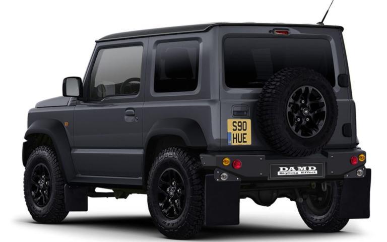 Δείτε το ταπεινό Suzuki Jimny να μεταμορφώνεται σε Land Rover και Mercedes! [vid]