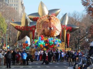 Thanksgiving: Δείτε την παρέλαση των Macy's την Ημέρα των Ευχαριστιών