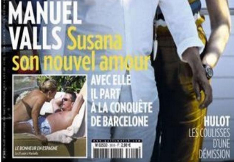Paris Match: Καταδίκη για φωτογραφίες του Βαλς με την νέα του σύντροφο! [pics] | Newsit.gr