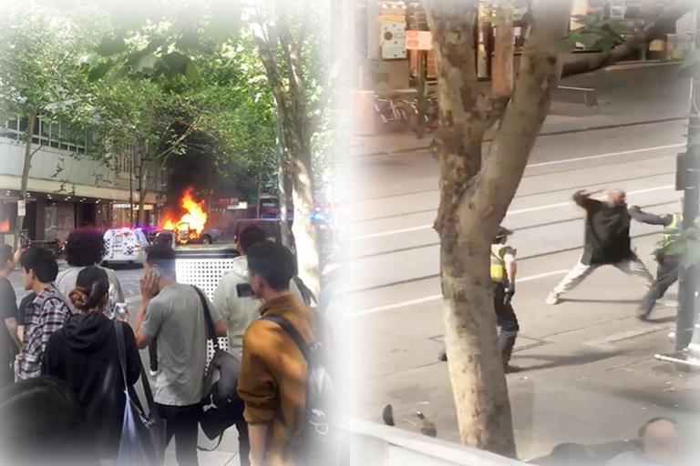 Μελβούρνη: Τρομοκρατική επίθεση το περιστατικό τη Bourke Street | Newsit.gr