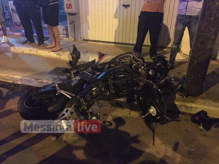 Τραγωδία στην Καλαμάτα: Νεκρός οδηγός μηχανής – Παρασύρθηκε από ΙΧ – video