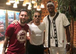 Lionel Messi: Δείπνησε με τη σύζυγο του στο εστιατόριο του Nusret στο Dubai!