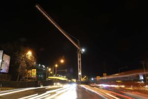 Ανάβουν την Πέμπτη τα φώτα στους γερανούς του Μετρό Θεσσαλονίκης