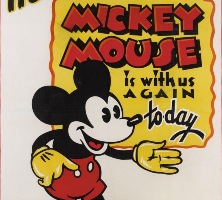 Σε δημοπρασία σπάνιες αφίσες του Μίκυ Μάους – Θα «πιάσουν» τουλάχιστον 165.000 δολάρια! | Newsit.gr
