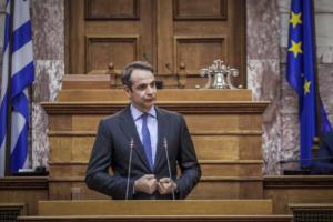 Μητσοτάκης: «Δεν θα επιτρέψουμε συριζοποίηση του Συντάγματος – Αριστερός Όρμπαν ο Τσίπρας»
