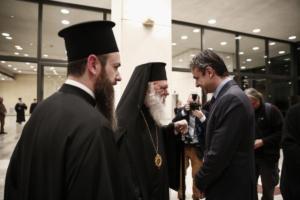 Συνάντηση κληρικών με τον Κ. Μητσοτάκη για τη συμφωνία Τσίπρα – Ιερώνυμου