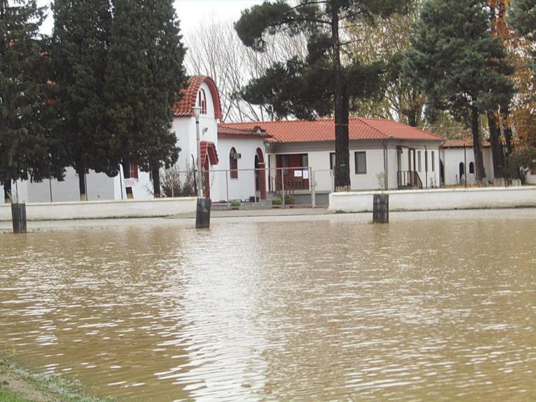 Θράκη: Το έργο των 235.000 ευρώ και οι εικόνες που έφερε η κακοκαιρία – Πλημμύρισε η μονή της Παναγίας Φανερωμένης [pics] | Newsit.gr