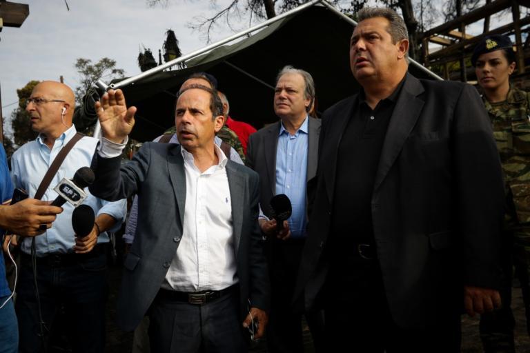 Μάτι: Εξηγήσεις στους εισαγγελείς έδωσε ο Δήμαρχος Ραφήνας Βαγγέλης Μπουρνούς