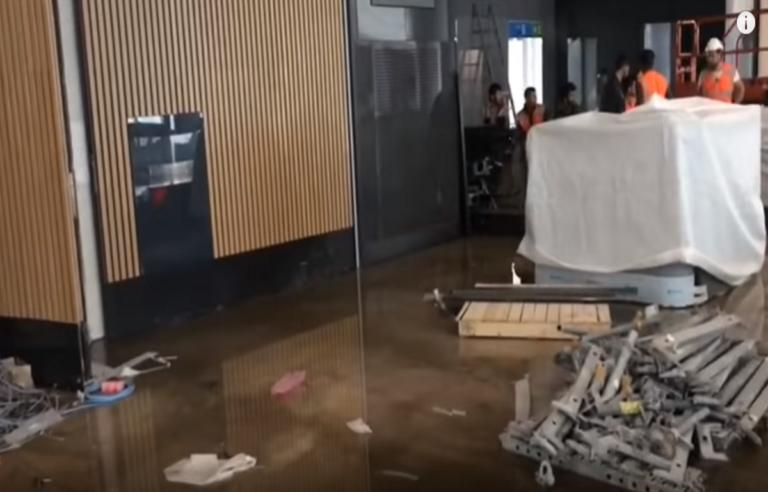 Πλημμύρισε το νέο αεροδρόμιο της Κωνσταντινούπολης! Απίστευτες εικόνες – Video