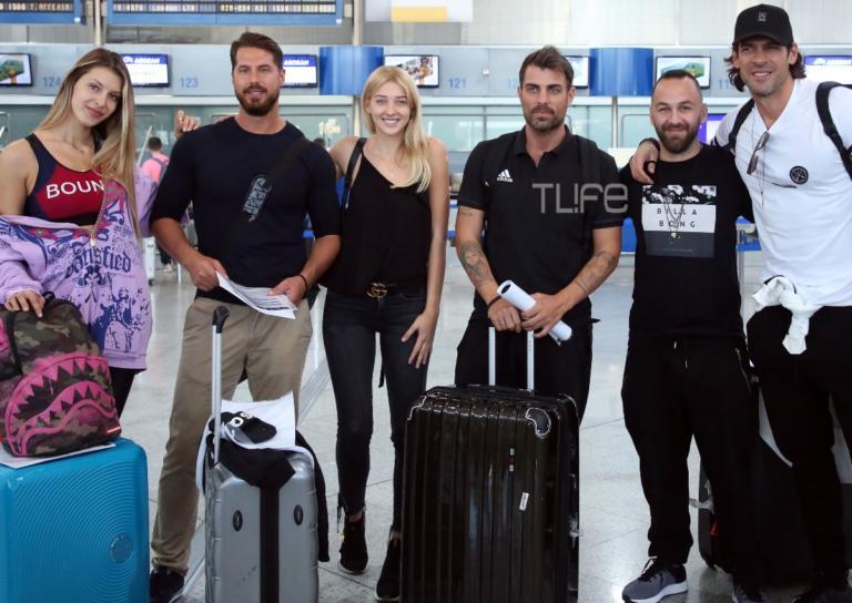 Οι Survivors έφυγαν για το Nomads: Καρέ-καρέ η αναχώρησή τους από το αεροδρόμιο! | Newsit.gr