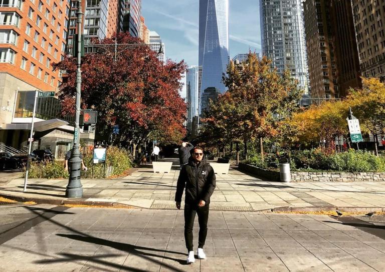 Γιώργος Αγγελόπουλος: Ταξίδι στην Νέα Υόρκη! [pics,video]   Newsit.gr