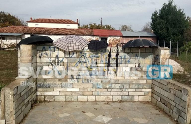 Καστοριά: Η απίστευτη εξήγηση για αυτές τις ομπρέλες σε στάση λεωφορείου – Δεν τοποθετήθηκαν τυχαία [pics] | Newsit.gr