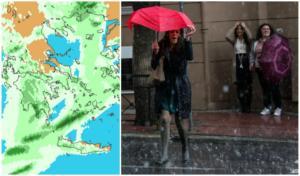 """Καιρός: Αγριεμένη """"Πηνελόπη"""" χτυπά τη χώρα! Χάρτες και αναλυτική πρόγνωση"""