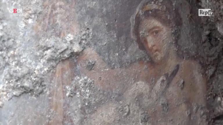 Πομπηία: Ανακάλυψαν ερωτική νωπογραφία με άρωμα Ελλάδας [video]