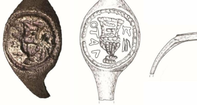 Παγκόσμιο δέος! «Πιλάτος» στα ελληνικά σε αρχαίο δαχτυλίδι!