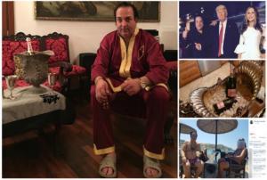 Ριχάρδος: Χλιδή και σαμπάνια το προφίλ του στο Facebook!