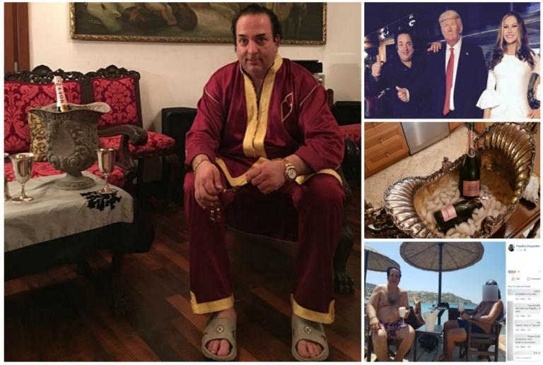 Ριχάρδος: Χλιδή και σαμπάνια το προφίλ του στο Facebook! | Newsit.gr