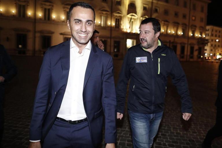 SZ: Οι φωνακλάδες Σαλβίνι και Ντι Μάιο φέρθηκαν ερασιτεχνικά και επικίνδυνα! | Newsit.gr