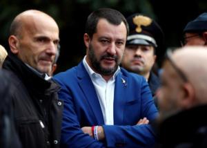 Ιταλία – προϋπολογισμός: Ειρωνείες από Σαλβίνι για την έκθεση της Κομισιόν