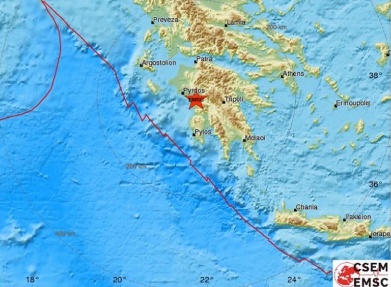 Σεισμός στην Ηλεία | Newsit.gr