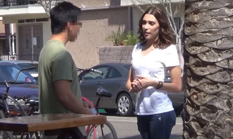 Ρώτησε 100 περαστικούς αν θα έκαναν σεξ μαζί της – Δείτε τα… αποτελέσματα! [vid] | Newsit.gr